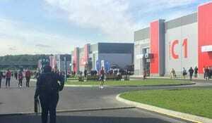 Die Wettkämpfe haben heute begonnen. Seit 10 Uhr dürfen Besucher auf das Expo-Gelände.