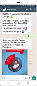 WhatsApp Bot Agentur für Arbeit