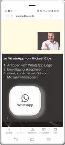WhatsApp-Einwilligung 1