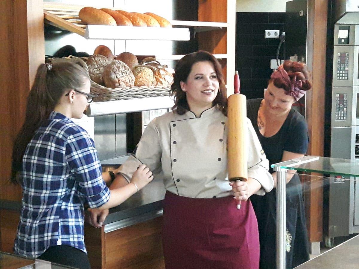 Fotoshooting Bäckermeisterin Katja Grünler-Erchinger