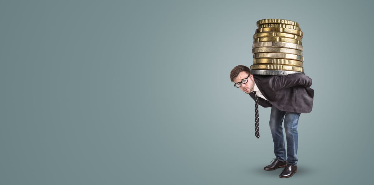 Verschuldungsgrad: Über 200 Prozent wird es riskant