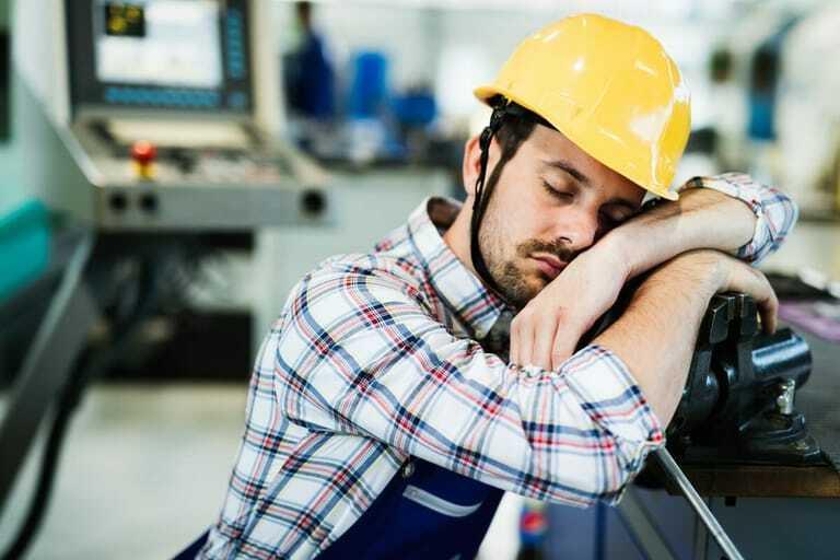 Müdigkeit im Job