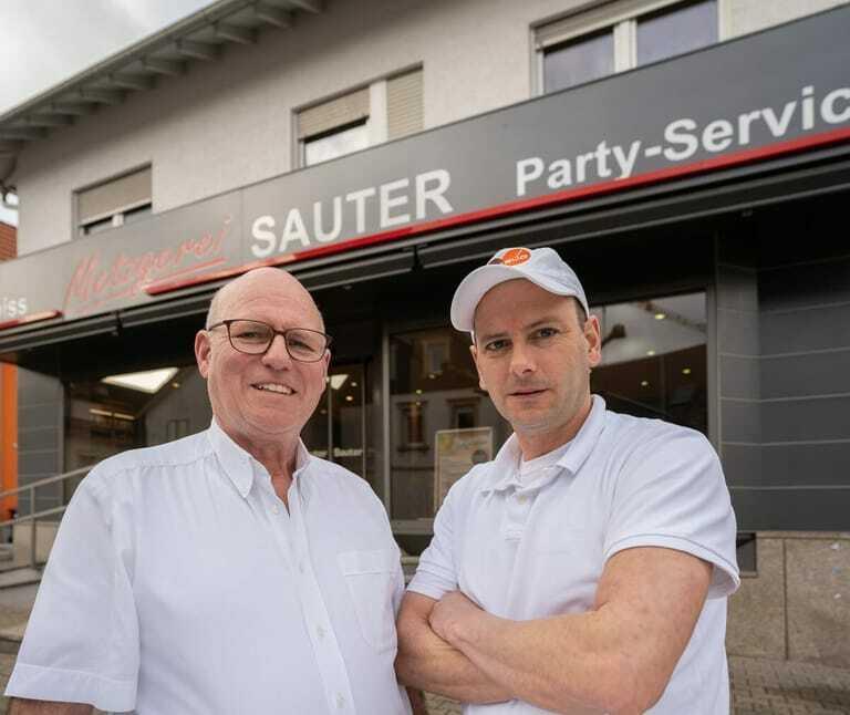 Albrecht Sauter (links) und Sohn Sascha