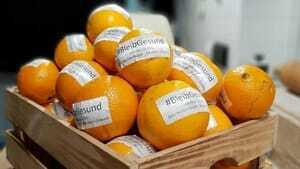 Bäckerei Gnauck: Mit Orangen gegen Corona