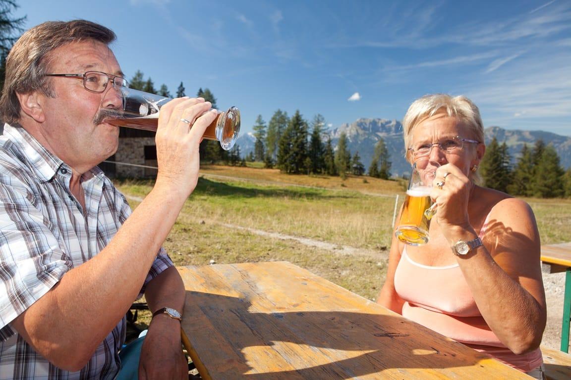 Bier-Wanderung nicht gesetzlich unfallversichert