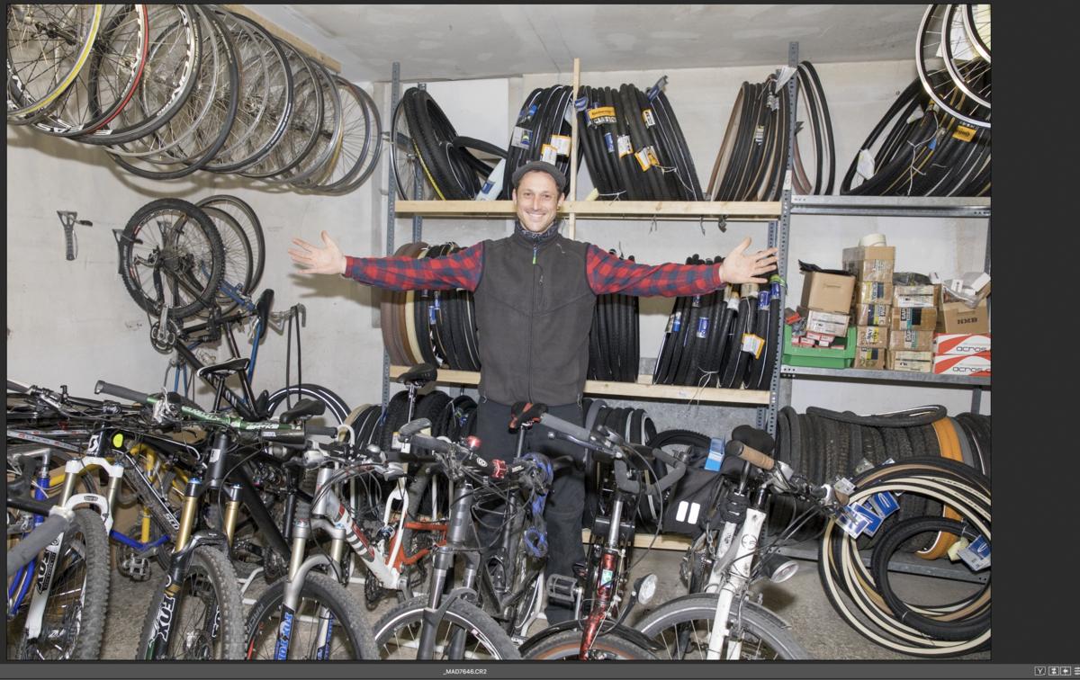 Upcycling: Hotte Hoss, Werkstatt