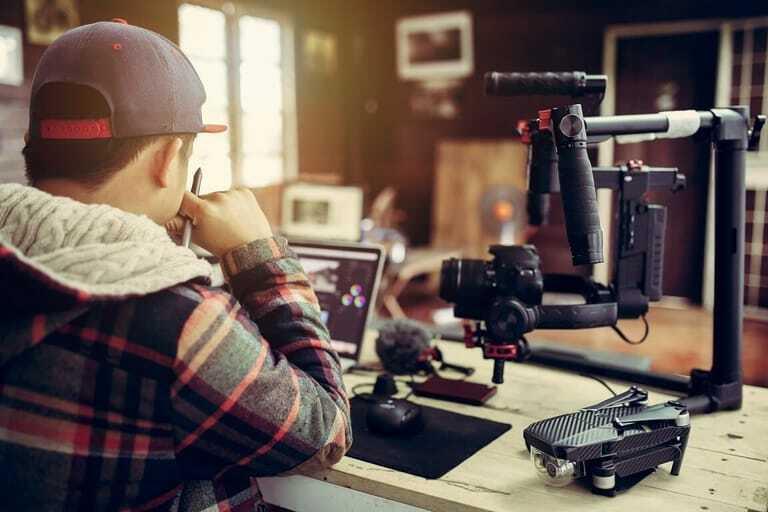 Blogger, Handwerk, Vlog