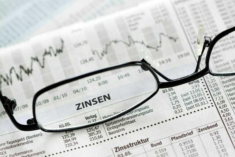 Zinsertrag und Aktienkursgewinn