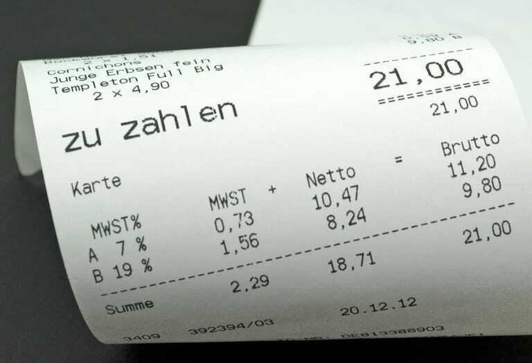 Umsatzsteuer berechnen