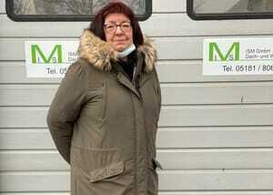 Iris Scheibe, Geschäftsführerin  der ISM-Montagen GmbH in Alfeld  in Niedersachsen