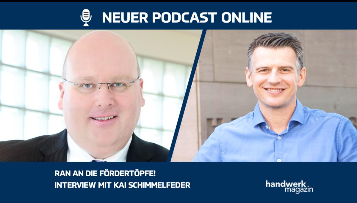 Ran an die Fördertöpfe: Interview mit Kai Schimmelfeder