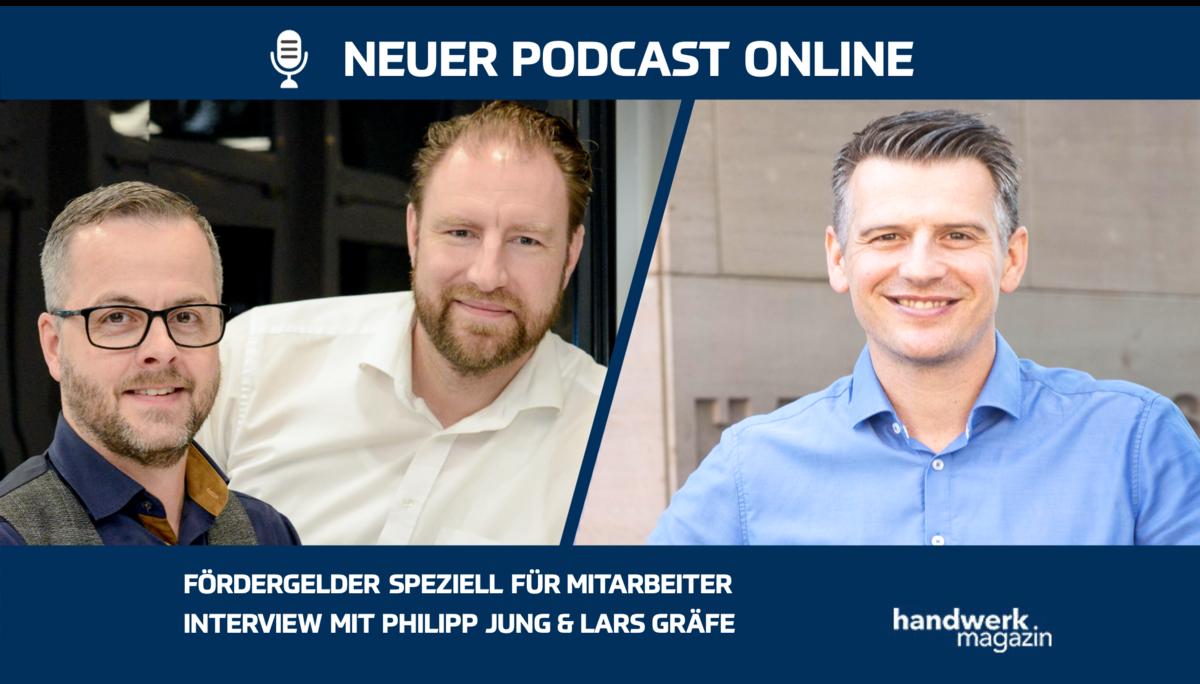 Fördergelder speziell für Mitarbeiter: Interview mit Philipp Jung und Lars Gräfe