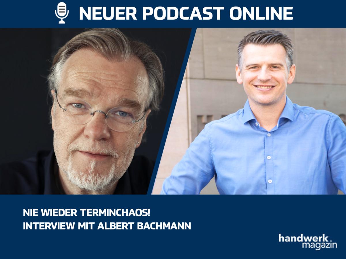Nie mehr Terminchaos – Interview mit Albert Bachmann