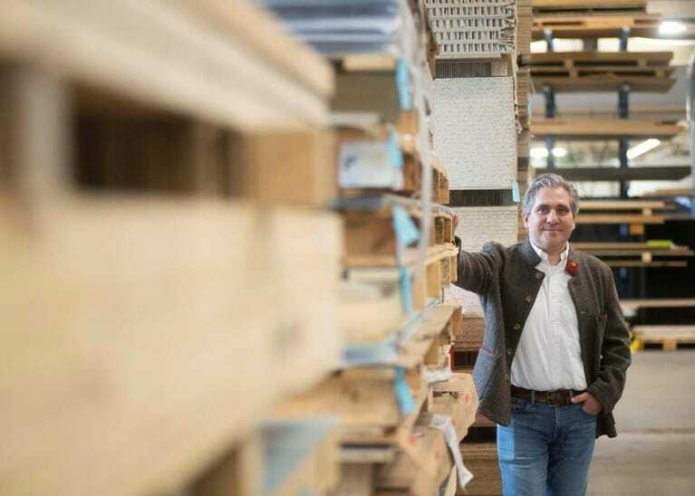 André Glässel ist Geschäftsführer des Ladenbauunternehmens Panzer Shopconzept GmbH & Co. KG