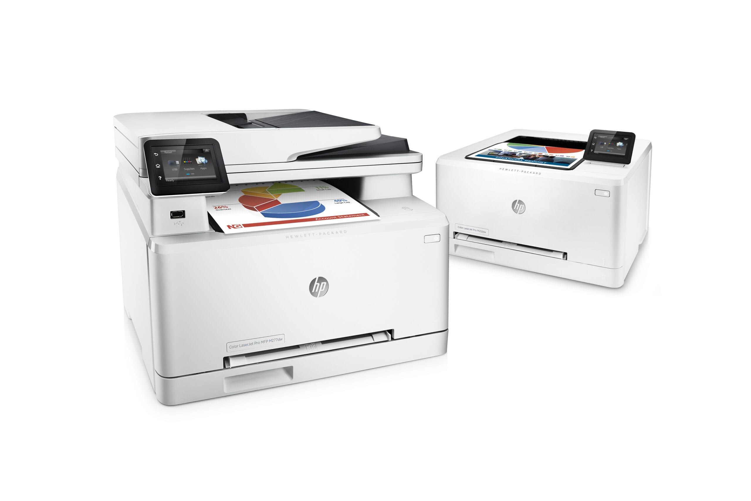 HP-Laserdrucker: Energie und Farbe sparen