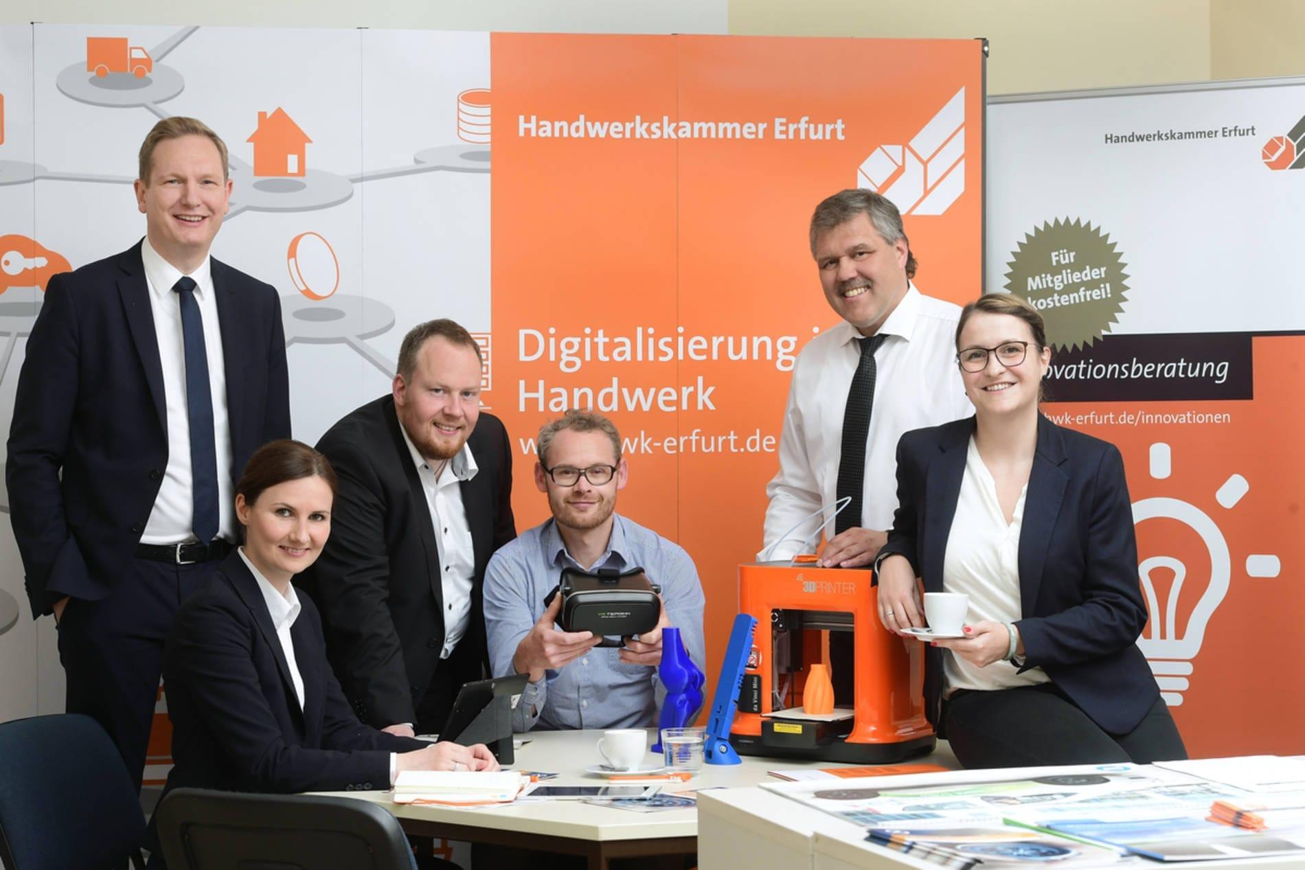 Projektteam der HWK Erfurt