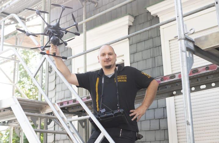 Drohnen-Einsatz im Handwerk: Große Übersicht über Chancen und rechtliche Hürden