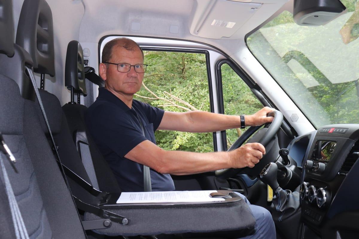 Reinhold Mulatz Iveco Dailiy Natural Power
