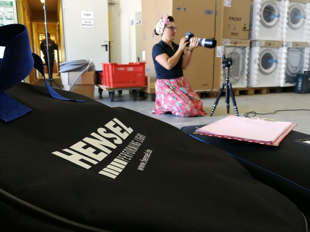 Geflüchtete mit neuer Perspektive: Shooting in Rain am Lech