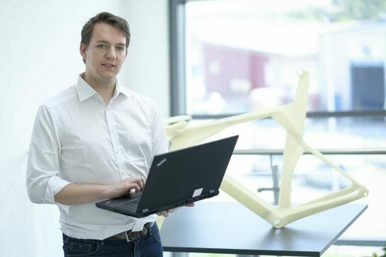 Kai Kegelmann, Juniorchef der Firma Kegelmann Technik GmbH im hessischen Rodgau-Jügesheim.