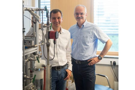 Karim Kudsi, Chef der TGA-Rohrinnensanierung