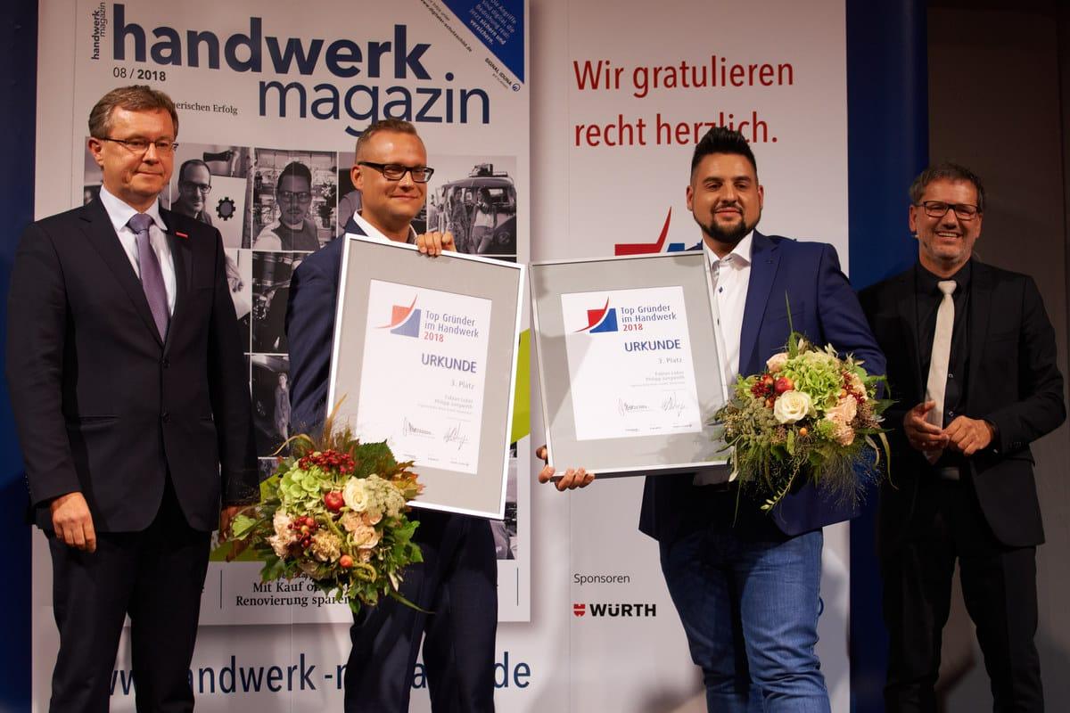 Fabian Lober und Philipp Jungwirth von Frigoclim