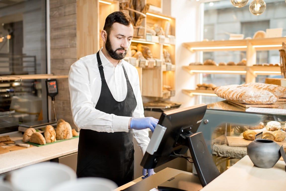 Registrierkasse, Bäcker, Kassennachschau