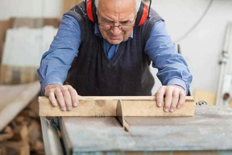 Rentner im Handwerk