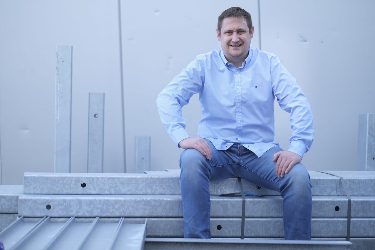 Bernd Röck, Chef der Ruchti Ladenbau GmbH