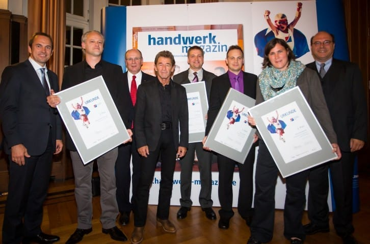 Top Gründer im Handwerk 2012