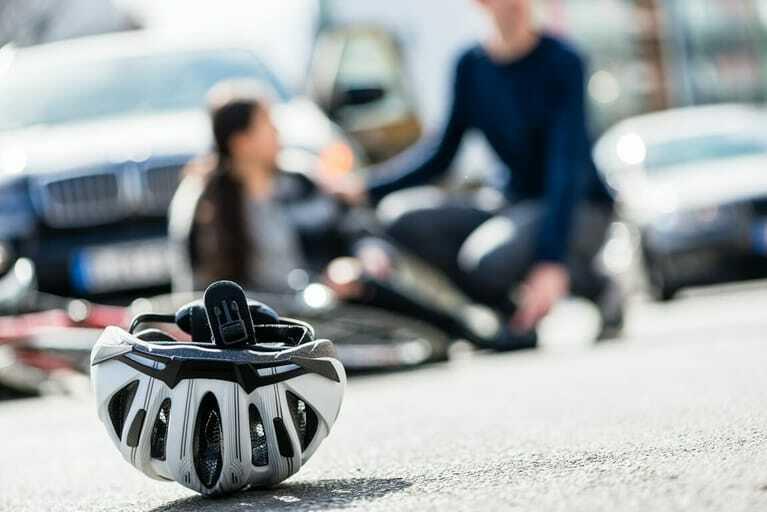 Wegeunfall, Fahrradunfall, Arbeitsunfall