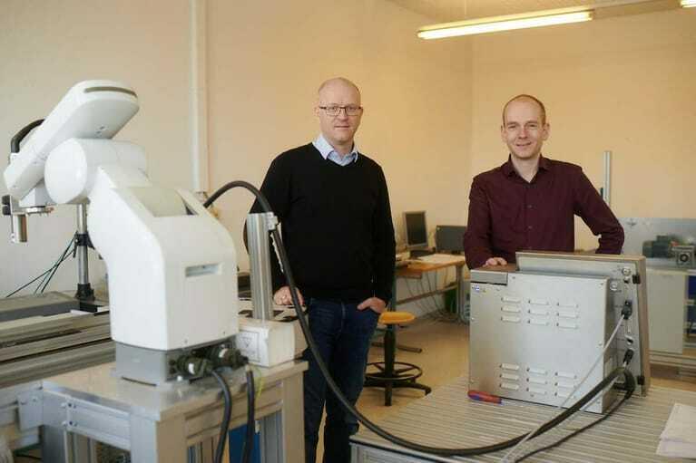 Alexander Hennig und Stev Besser (von links)