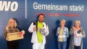 Masken-Initiative der Maler- und Lackiererinnung Oderland