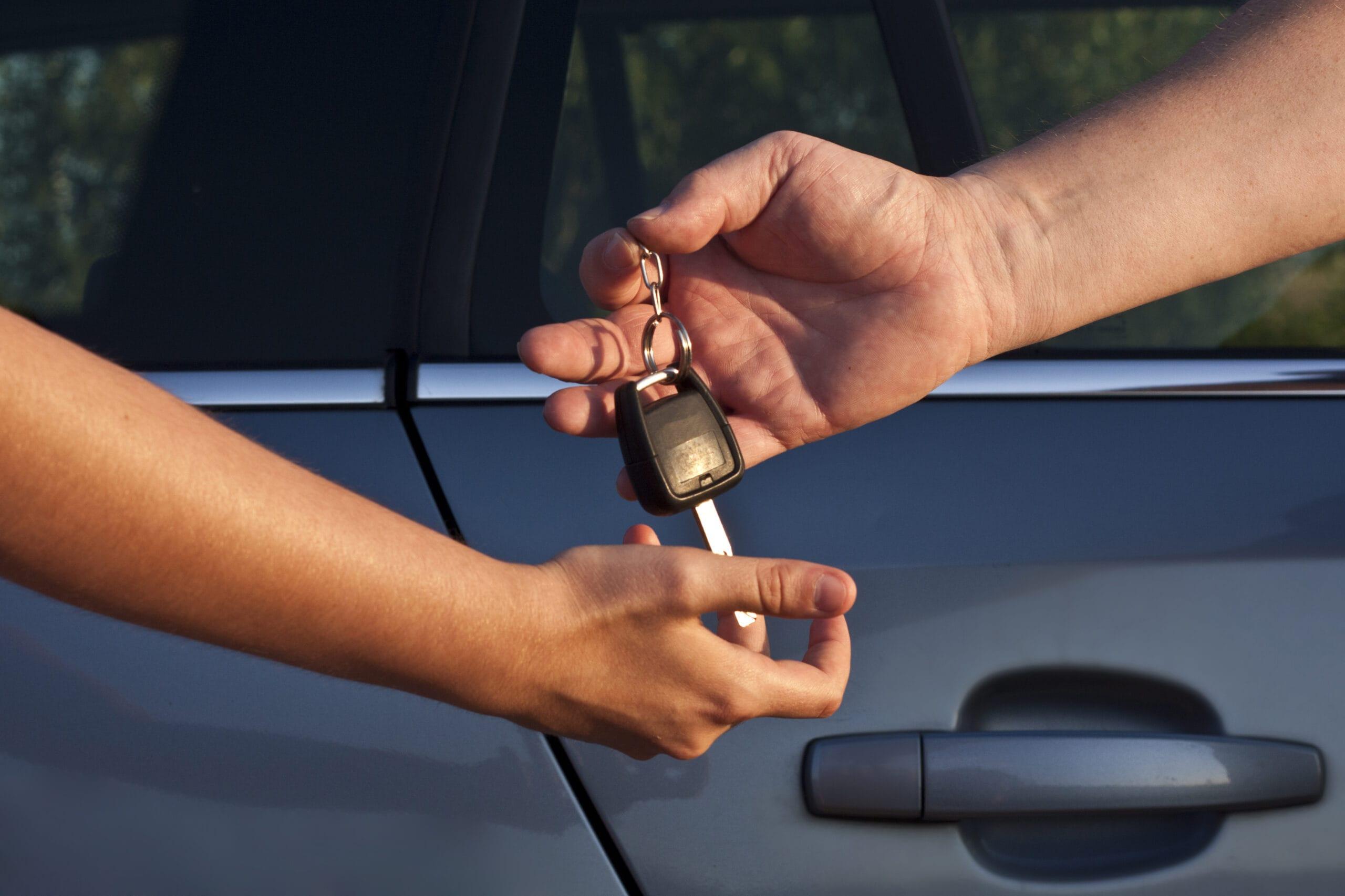 Carsharing: Auto vor dem Losfahren auf Schäden prüfen