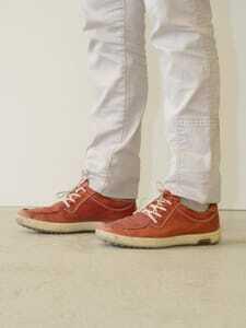 Luisa Haase-Kiewning rote Schuhe