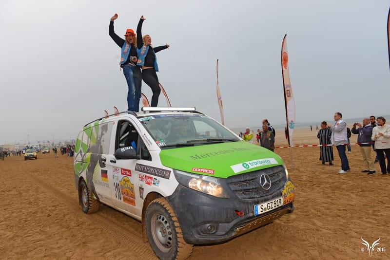 Rallye Aïcha des Gazelles: Doppelerfolg bei Wüstenrallye