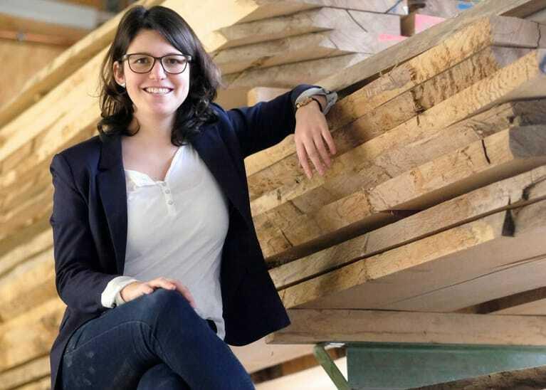 Julia Kasper, Gründerin von Holzgespür