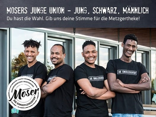 Provokante Werbung zur Europawahl: Metzgerei sucht neue Azubis