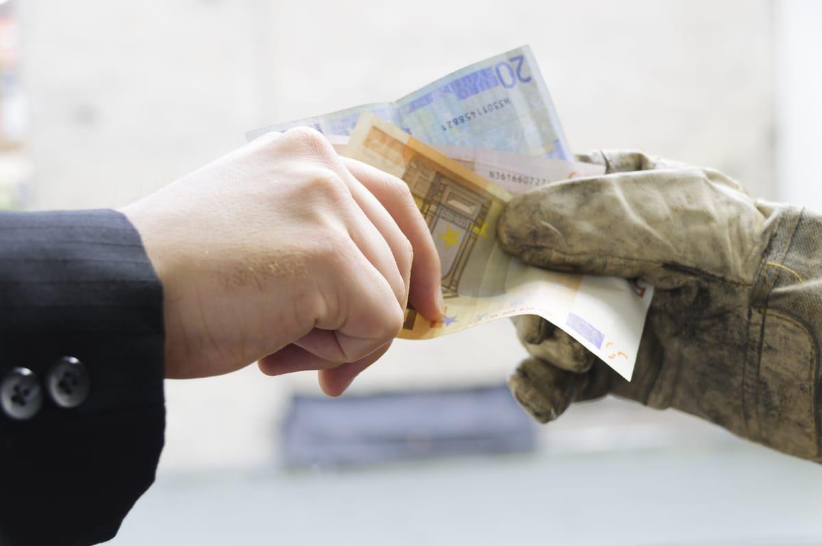 Werklohn: Auch nachträglich vereinbarte Schwarzarbeit ist illegal