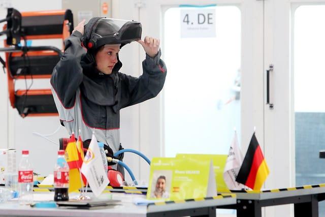 Beim Wettkampf an Skill 36, Fahrzeuglackierer, hat Johanna Kaiser den 16. Platz belegt.
