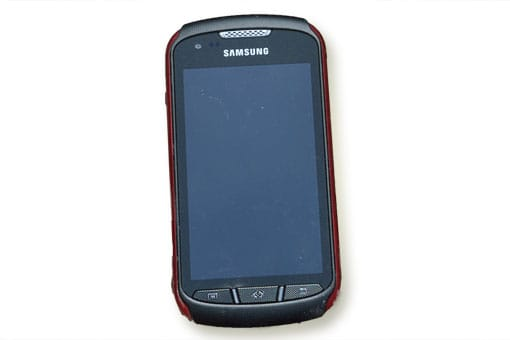 Das Samsung Galaxy Xcover 2 im Baustellentest