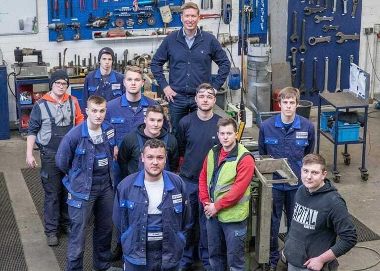 Gunnar Barghorn, Chef von Barghorn Stahl-, Maschinen- und Metallbau in Brake, hat das Bewerbungsverfahren auf den Kopf gestellt.