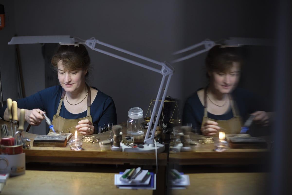 Upcycling: Britta Schwalm Goldschmiedin