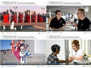 WorldSkills Germany bietet jeden Tag ein Video auf Facebook mit Interview, Hintergrundinfos und Eindrücken vom Expogelände und den Wettkämpfen.