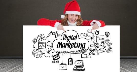 weihnachtliches Marketing
