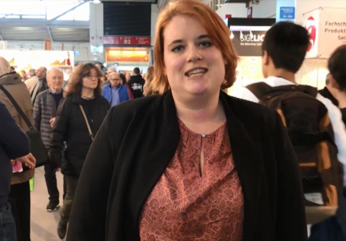Fiona Kellner - Begrüßung auf der IHM 2018