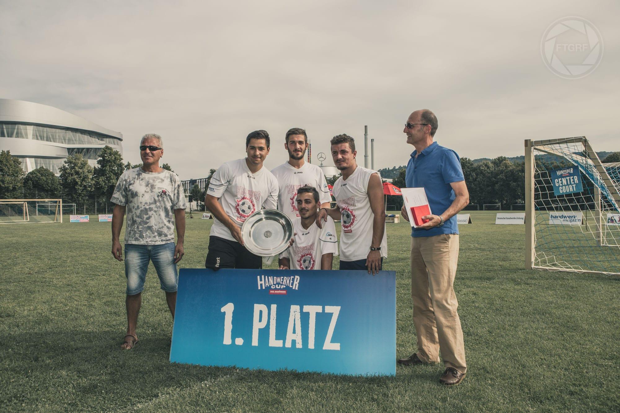 Handwerker Cup in Stuttgart 2014