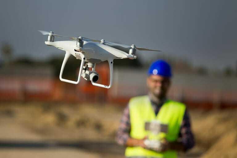Nutzung der Drohnen