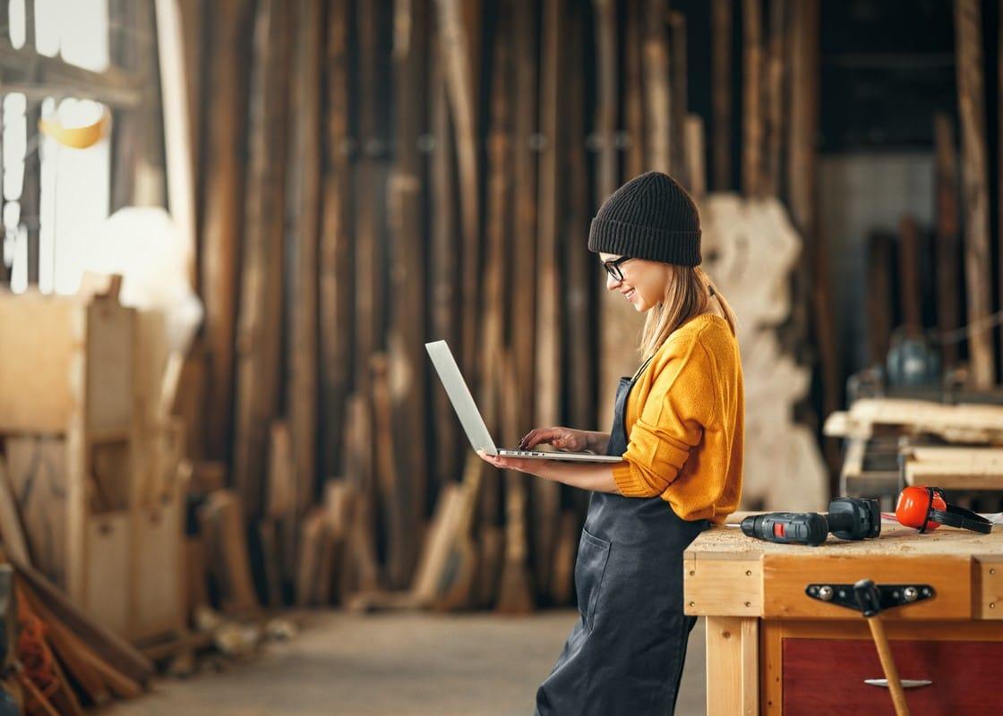 Digitalisierungsbarometer: Wie Frauen Handwerksbetriebe führen