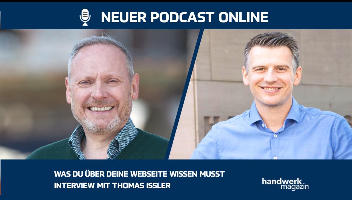 Was Handwerker über ihre Website wissen müssen: Interview mit Thomas Issler